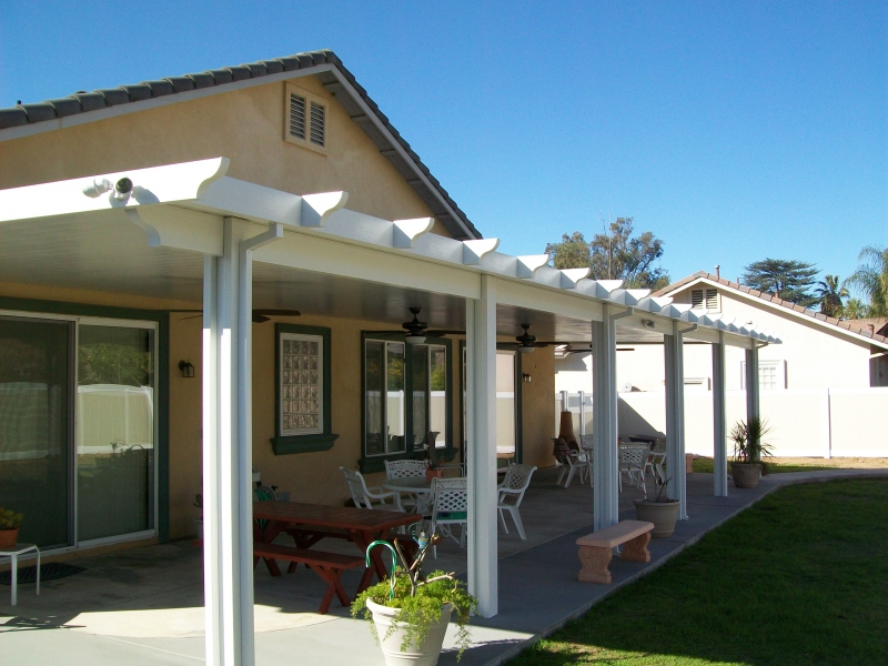 Solid Patio Covers Temecula California Patio Covers