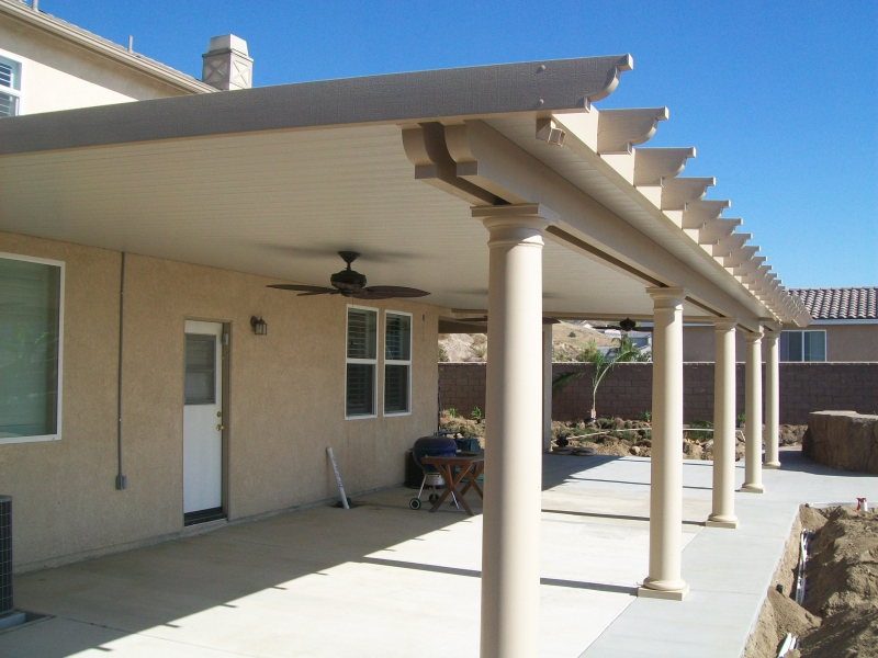 Solid patio covers temecula california patio covers for Car patio covers